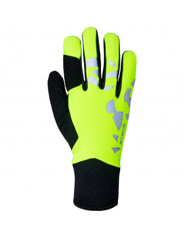 Raceviz handschoen Thunder M yellow