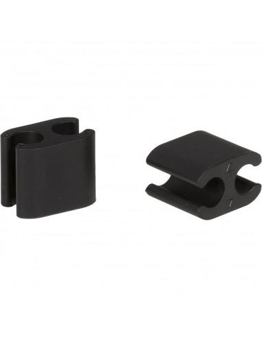 Elvedes kabelclip Duo 4,1 - 5mm doos...