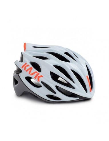 Kask Mojito X - Wit/Oranje