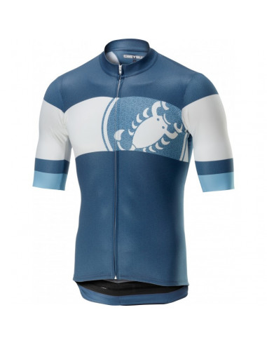 Castelli Ruota Jersey Light Blue