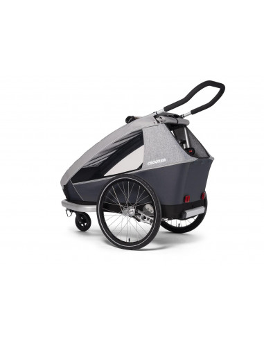 Croozer Kid Keeke 1 Stone grey