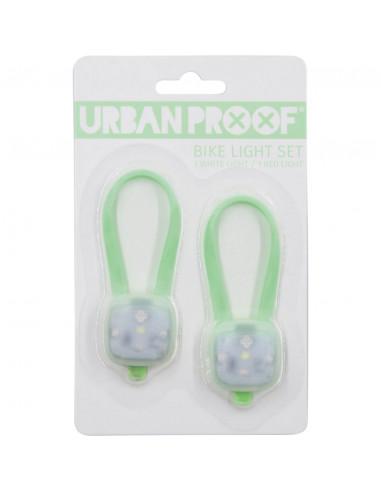UP SMD LED fietslampjes set Pastel groen
