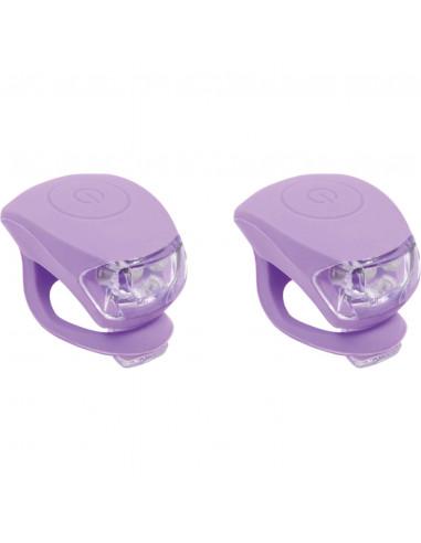 UP Siliconen Fietslampjes set Pastel...