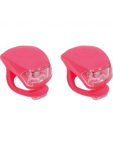 UP Siliconen Fietslampjes set Kreeft...