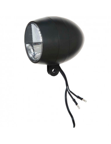 Cortina koplamp Amsterdam dyn zwart