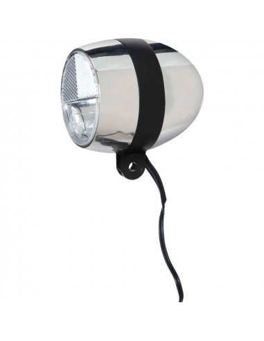 Cortina koplamp Amsterdam E-bike chroom