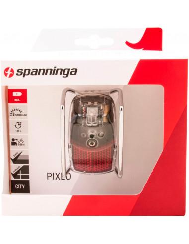 Spanninga a licht Pixeo Xb chr + beugel