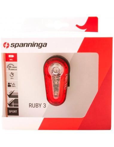 Spanninga a licht Ruby 3 steady