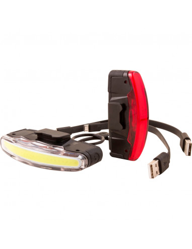 Spanninga verlichtingsset Arco opl USB