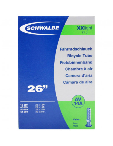 Schwalbe bnb AV14A XX Light 26 x 1.50...
