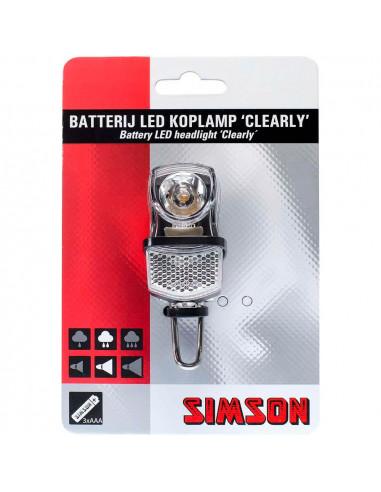 Simson koplamp Clearly 7 lux batt
