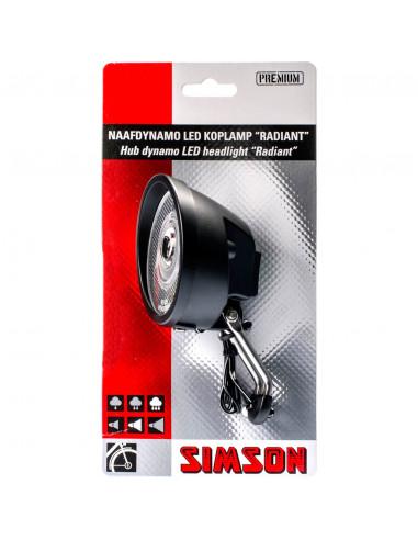 Simson koplamp Radiant naafdyn 7 lux...