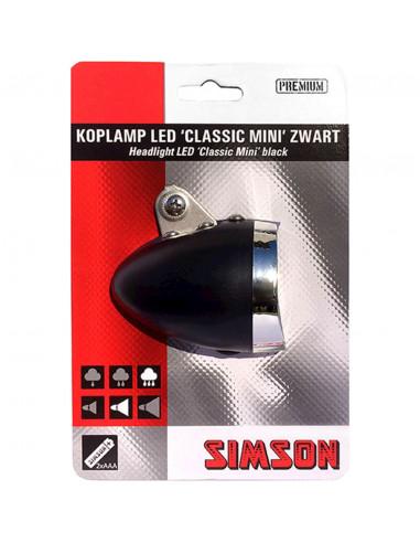 Simson koplamp Classic mini led 4 lux...