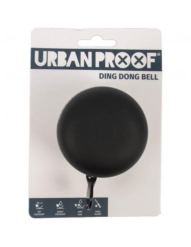 UP bel Ding Dong 60mm mat zwart / grijs